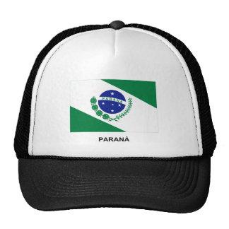 Paraná, bandera del Brasil Gorros
