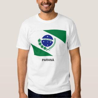 Paraná, bandera del Brasil Playera