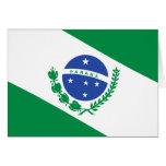 Parana, Brazil flag Greeting Cards