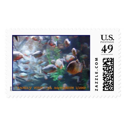 Parana fish stamps zazzle for Parana the fish