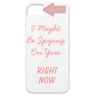 Paranoia inducing case for the iPhone 5