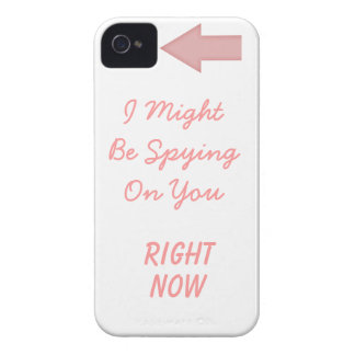 Paranoia inducing iPhone 4 cover
