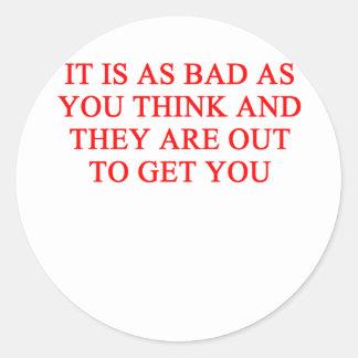 paranoia stickers