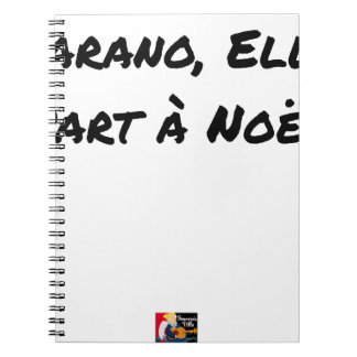 PARANOIAC, IT LEAVES TO CHRISTMAS - Word games Notebook