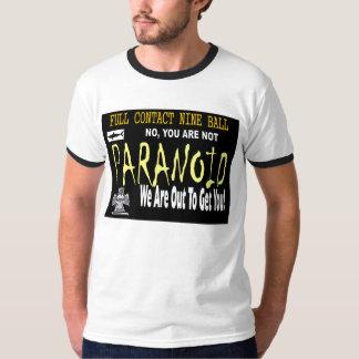 Paranoico Playera