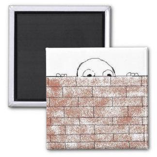 Paranoid brick - magnet