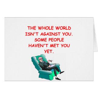paranoid card