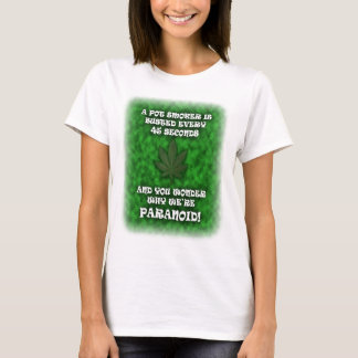Paranoid Pot Smokers T-Shirt