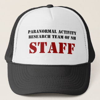 Paranormal Activity Research Team of NH, STAFF Trucker Hat