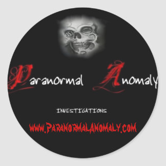 Paranormal Anomaly Sticker