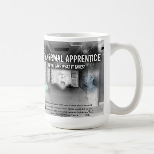 Paranormal Apprentice coffee cup Coffee Mugs