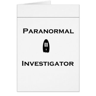 Paranormal Card