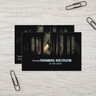 Paranormal Investigator 2 Business Card