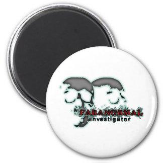 Paranormal Investigator 2 Inch Round Magnet