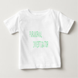 Paranormal Investigator Baby T-Shirt