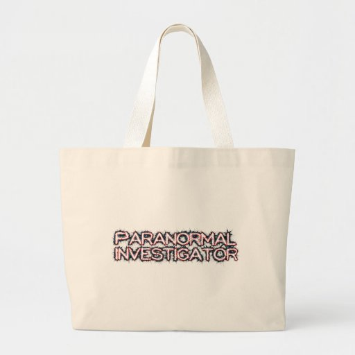Paranormal Investigator Canvas Bag
