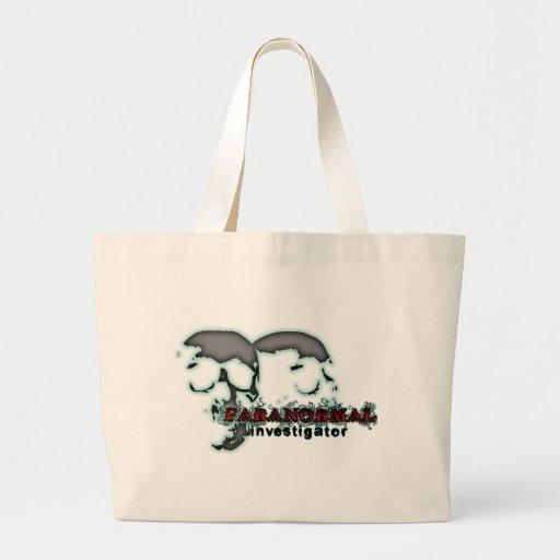 Paranormal Investigator Tote Bags