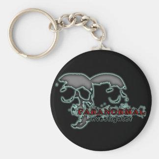 Paranormal Investigator Basic Round Button Keychain