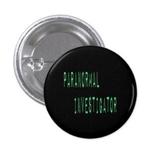 Paranormal Investigator - Black Background Button
