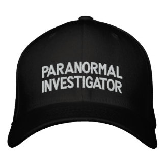 Paranormal Investigator Embroidered Baseball Hat