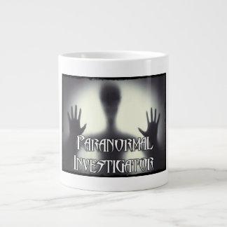 Paranormal Investigator Ghost Jumbo Mug
