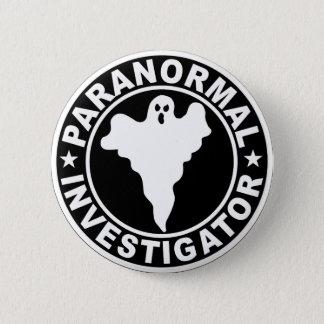 Paranormal Investigator Logo Halloween Costume Pinback Button