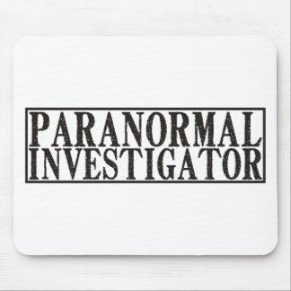 Paranormal Investigator Mouse Pad
