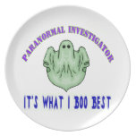 Paranormal Investigator Party Plate