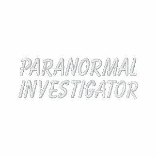 Paranormal Investigator Polo