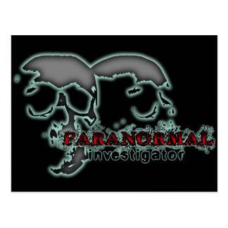 Paranormal Investigator Postcard