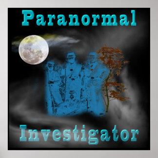 Paranormal Investigator poster