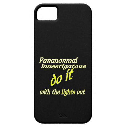 Paranormal Investigators Do It iPhone SE/5/5s Case
