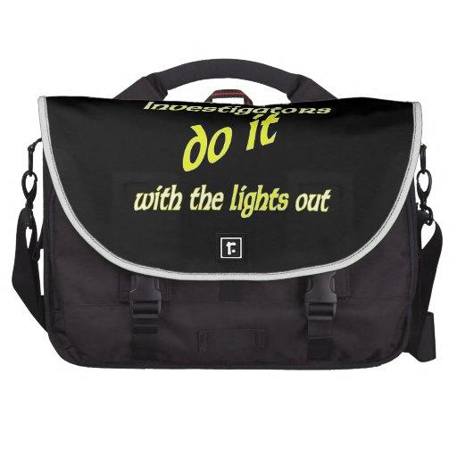 Paranormal Investigators Do It Bag For Laptop