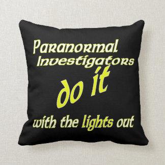 Paranormal Investigators Do It Pillow