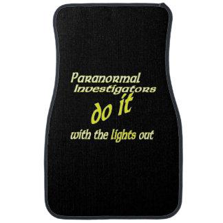 Paranormal Investigators Do It Car Mat