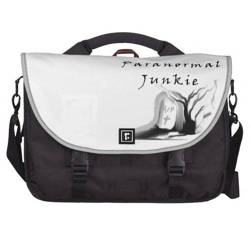 Paranormal Junkie Laptop Computer Bag
