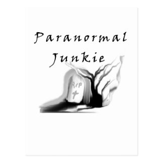 Paranormal Junkie Postcard