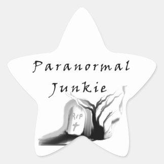 Paranormal Junkie Star Sticker