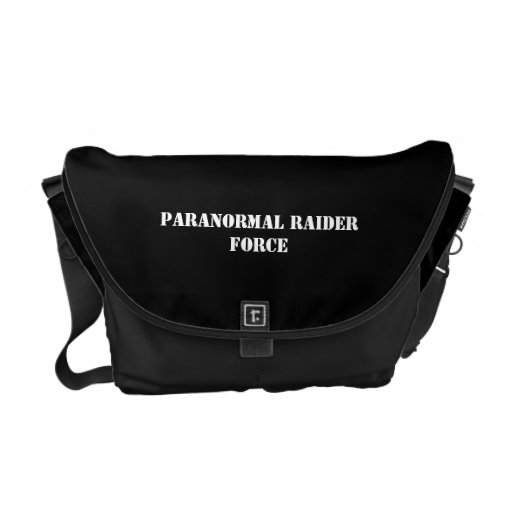 Paranormal Raider Force Messenger Bag