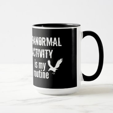 Halloween Themed Paranormal Routine 15oz mug