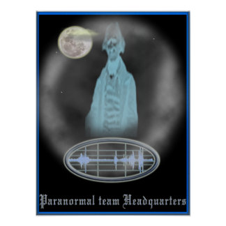 Paranormal team poster