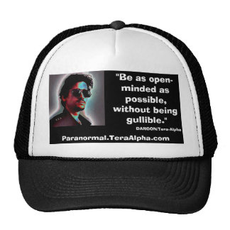 Paranormal.TeraAlpha.com - Promo Hat