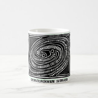ParanormalPrints Mug Gravitational Waves