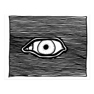 ParanormalPrints Post Card 'Omniscient Eye'