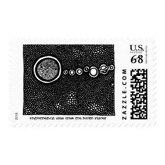 ParanormalPrints Postage 'from the Ninth Planet'