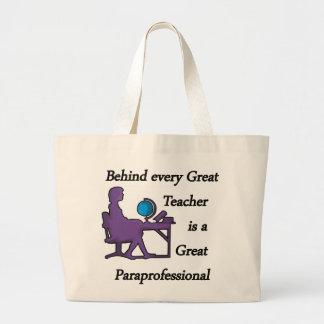 Paraprofessional Tote Bags