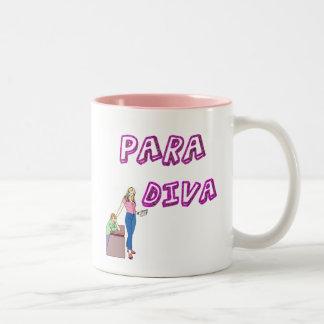Paraprofessional Diva Two-Tone Coffee Mug