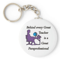 Paraprofessional Keychain