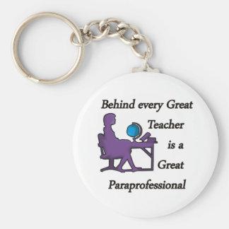 Paraprofessional Keychain