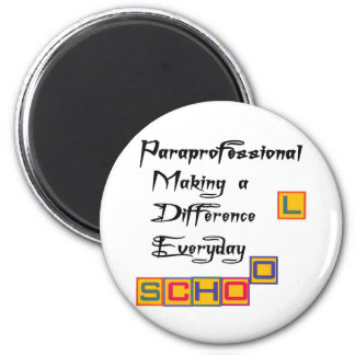 PARAPROFESSIONAL MAKING A DIFFERENCE MAGNET